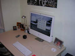 My workspace & iMac
