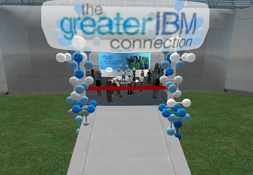 Opening of the Greater IBM virtual connection center