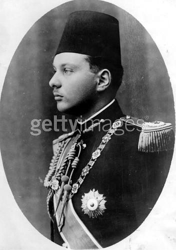 King Farouk official Wedding photo