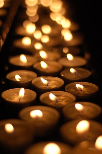 Candles in the cathedral