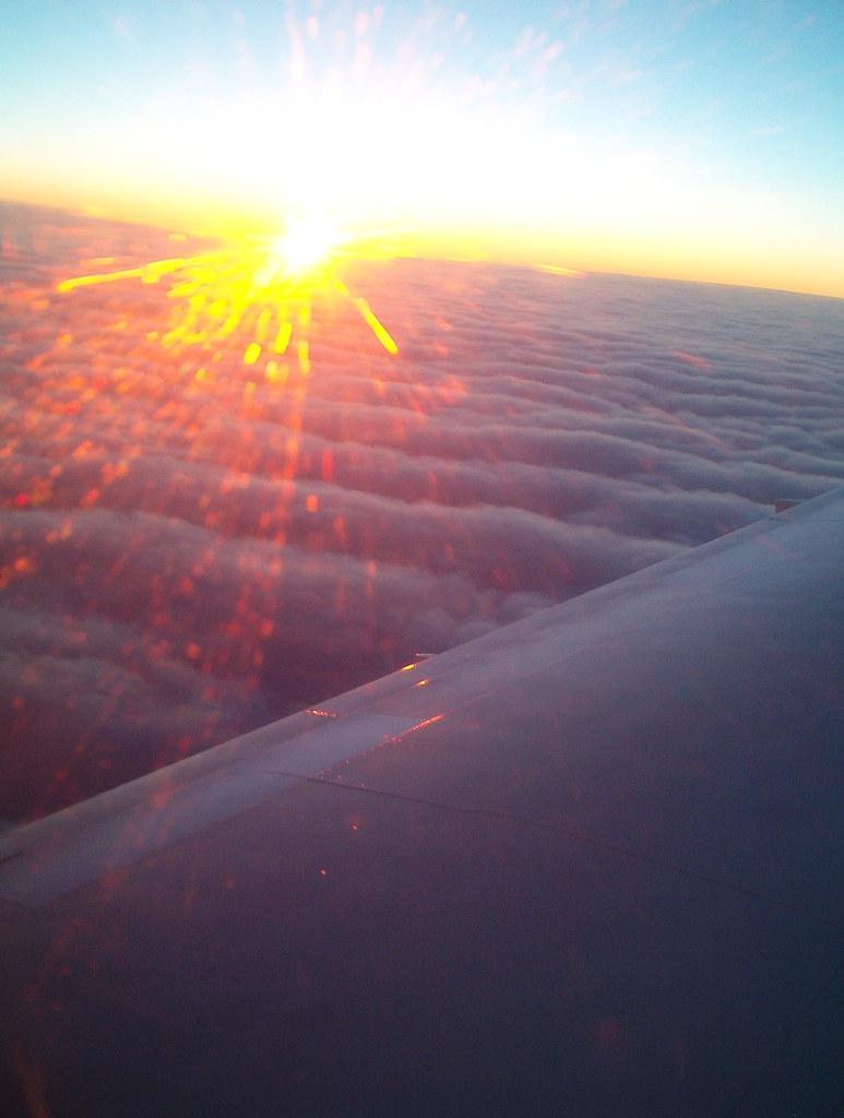 Sunset above Northern Ontario