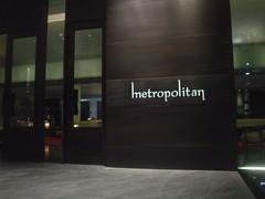 61.The Metropolitan酒店的門口