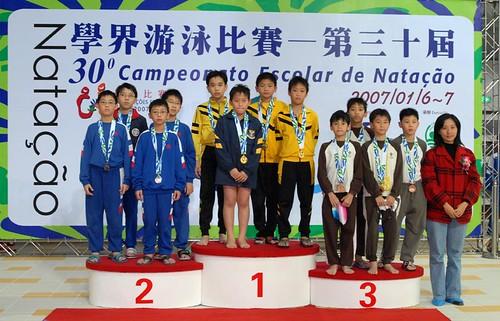 30學界賽第二日比賽教年局王勁秋處長頒獎