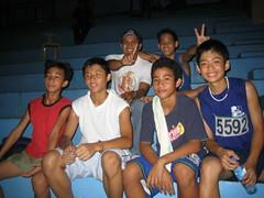 The victorious Jesuit team