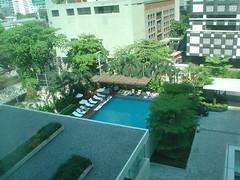 26.從房間可以俯瞰游泳池