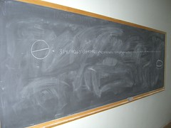 Pi In Physics Deparment Hallway