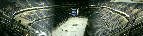 Panoramic shot of the MCI Arena