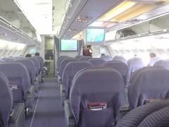 04.泰航的商務艙內裝