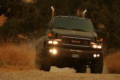 Transformers (Ironhide) - GMC TopKick medium-duty truck