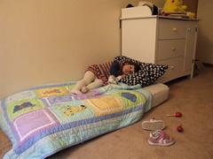 100/365: Big girl bed! (by sarahmichelef)