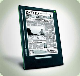 un diari en paper electronic