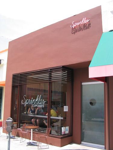 Sprinkles Cupcake exterior