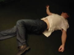 Falling Over Drunk