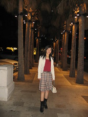 Xuan in her fall wear
