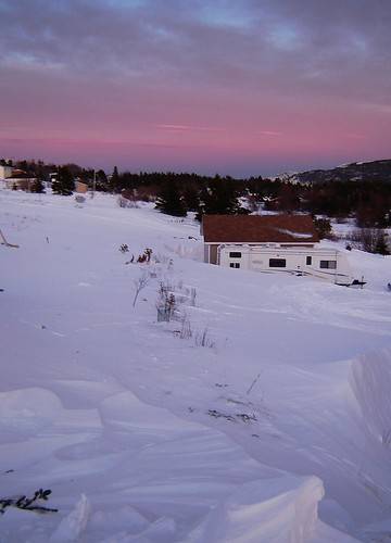 Sunset in MIddle Cove