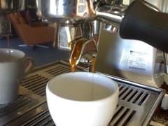 Espresso shot LaMarzocco Linea