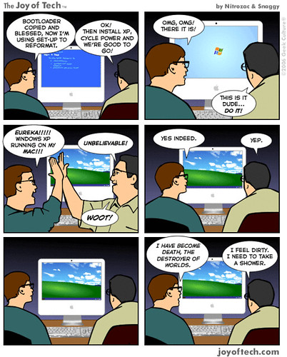 Windows on Mac.