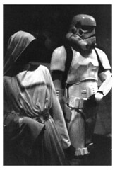 Smithsonian Star Wars Exhibit - Leia and Stormtrooper
