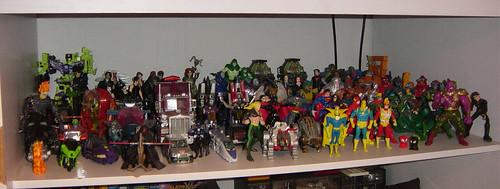 Mi colección de figuras de acción (no son muñequitos!)