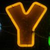 Y glowing