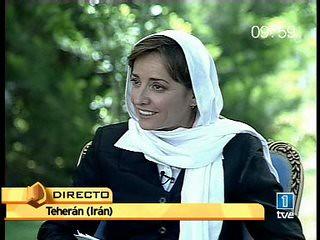 Pepa_Bueno con Ahmadinejad
