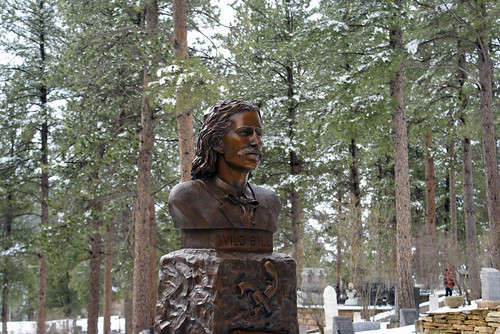 """Wild Bill"" Hickok, Boot Hill, Deadwood, South Dakota"