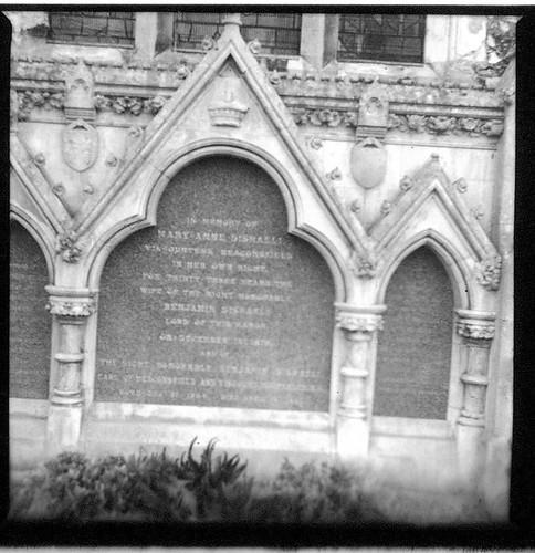 Disraeli gravestone