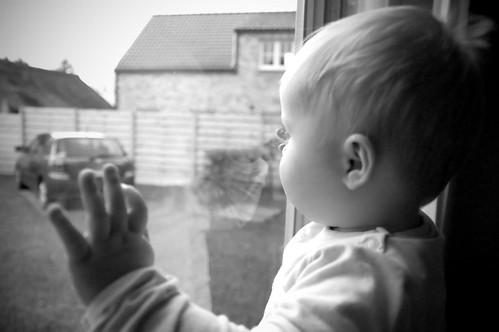 Aan het raam
