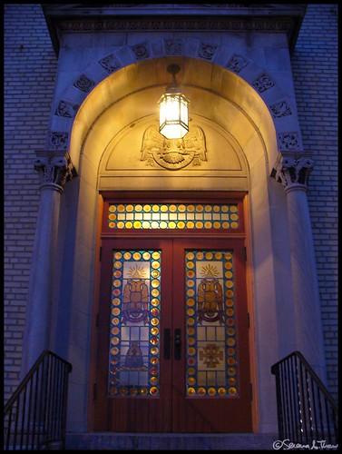 Theatre Entrance to the Scottish Rite Auditorium - Collingswood, NJ