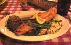 Prejean's, Lafayette LA - Catfish Oscar Prejean