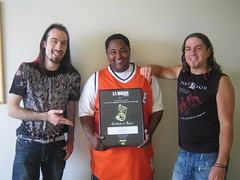 Nitidus: Hard Rock Artist of the Year! (by Kristian Grondman)