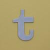 card letter t