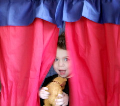 134/365: In the Puppet Theater (by sarahmichelef)