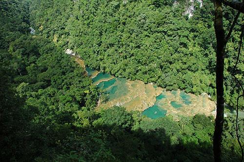 Semuc Champey - 05 Semuc from above