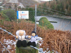 Jimmy and Grandad go to find the snow (or lack of it)