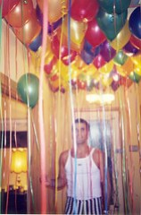 Daniel with Balloons