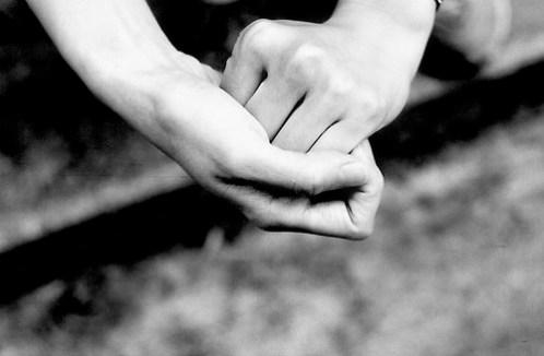 Rosemary's hands