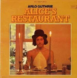 Alice's Restaurant - orginalt cover