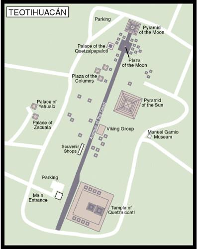 Teotihuacan - 01 - teotihuacan_map