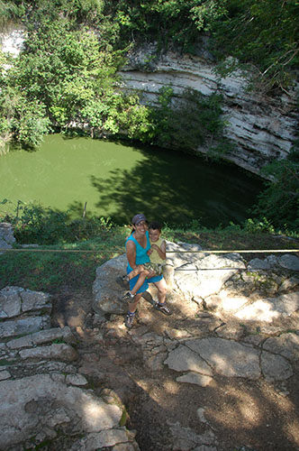 Chichen Itza - 03 - Sacred Cenote and young victim