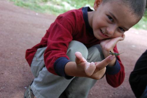 15 - Ohad holding Chapulin