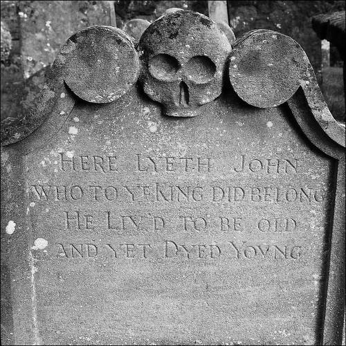 Here lyeth John