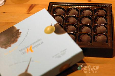 Mademoiselle de Margaux Le Raisin 巧克力