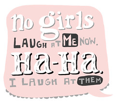 No girls laugh at me spam