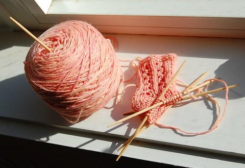 Hunca Munca Baby Socks (by jeninmaine)