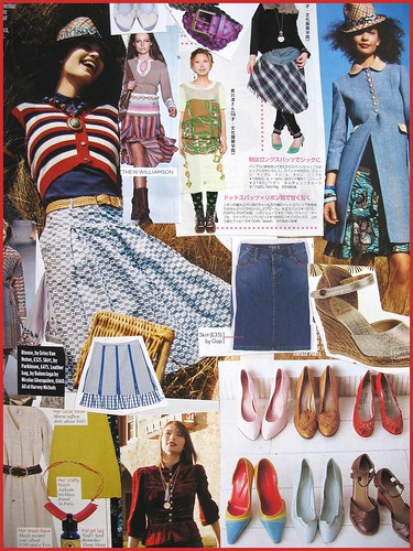 fashion scrapbook page 11