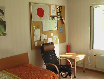 Mi habitación en Luleå