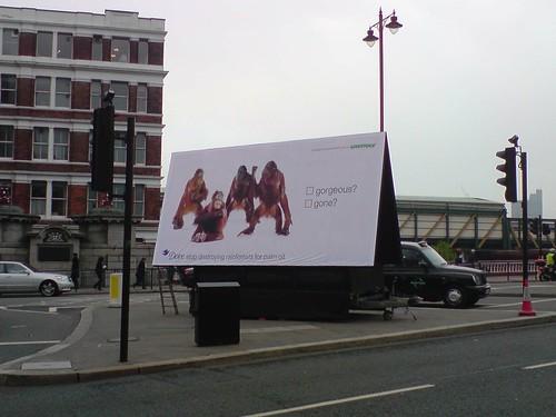 Greenpeace Protest @ Unilever London[01]