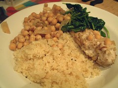 Chicken and chickpeas