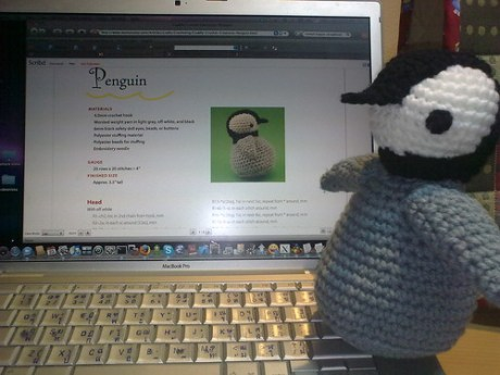 Penguin Cuddly Crochet